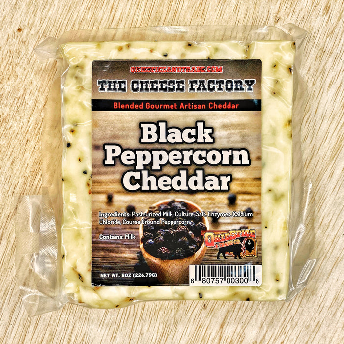 OkieSpice Artisan Cheese-Black Peppercorn Cheddar