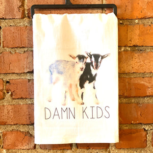 Kitchen Towel-Damn Kids