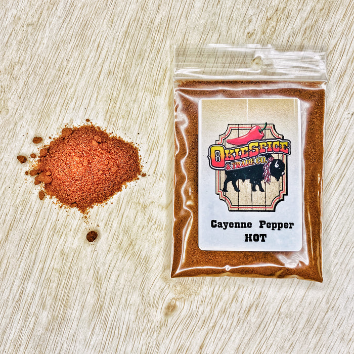 Cayenne Pepper-Hot