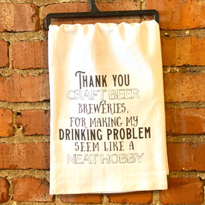 Kitchen-Towel-Thank You Craft Breweries