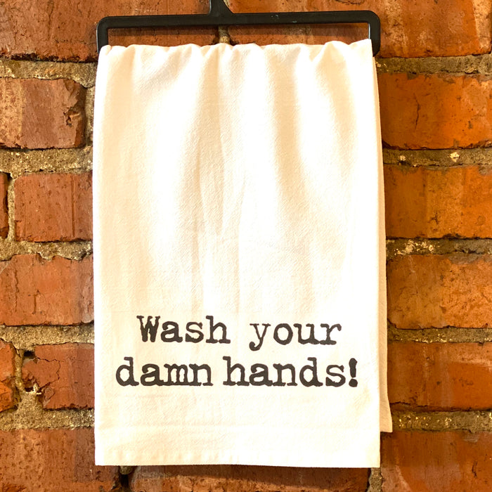 Kitchen Towel- Wash Your Hands