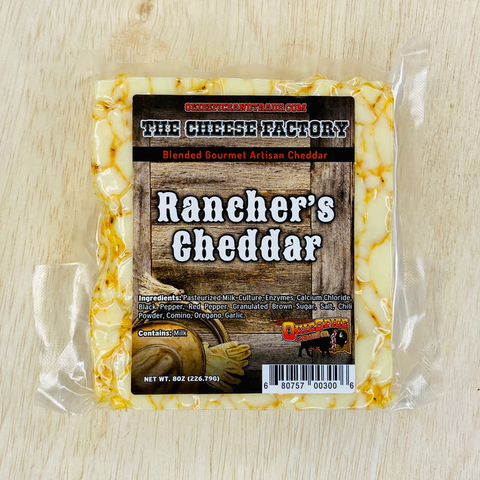 OkieSpice Artisan Cheese-Ranchers Cheddar