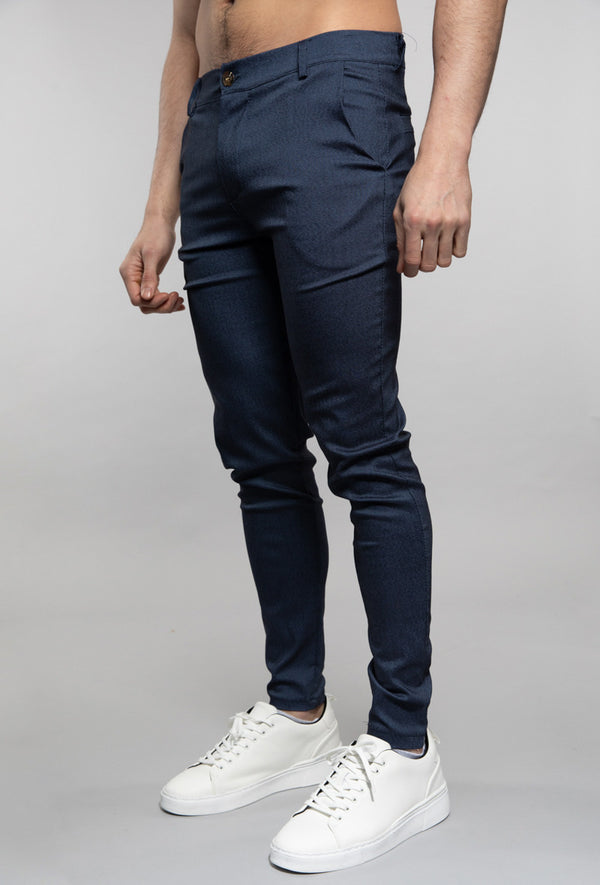 Pantalon broek navy smart