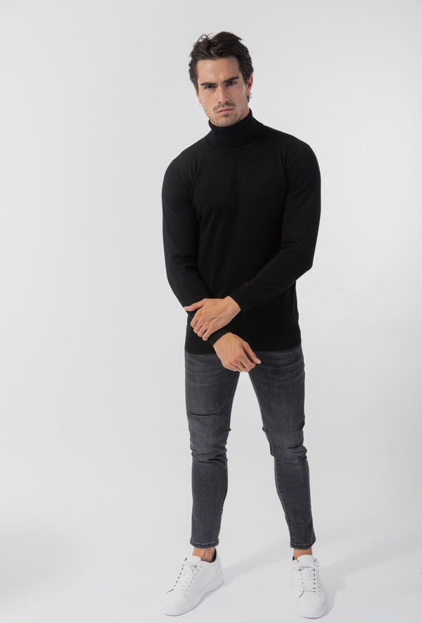 Turtleneck black basic