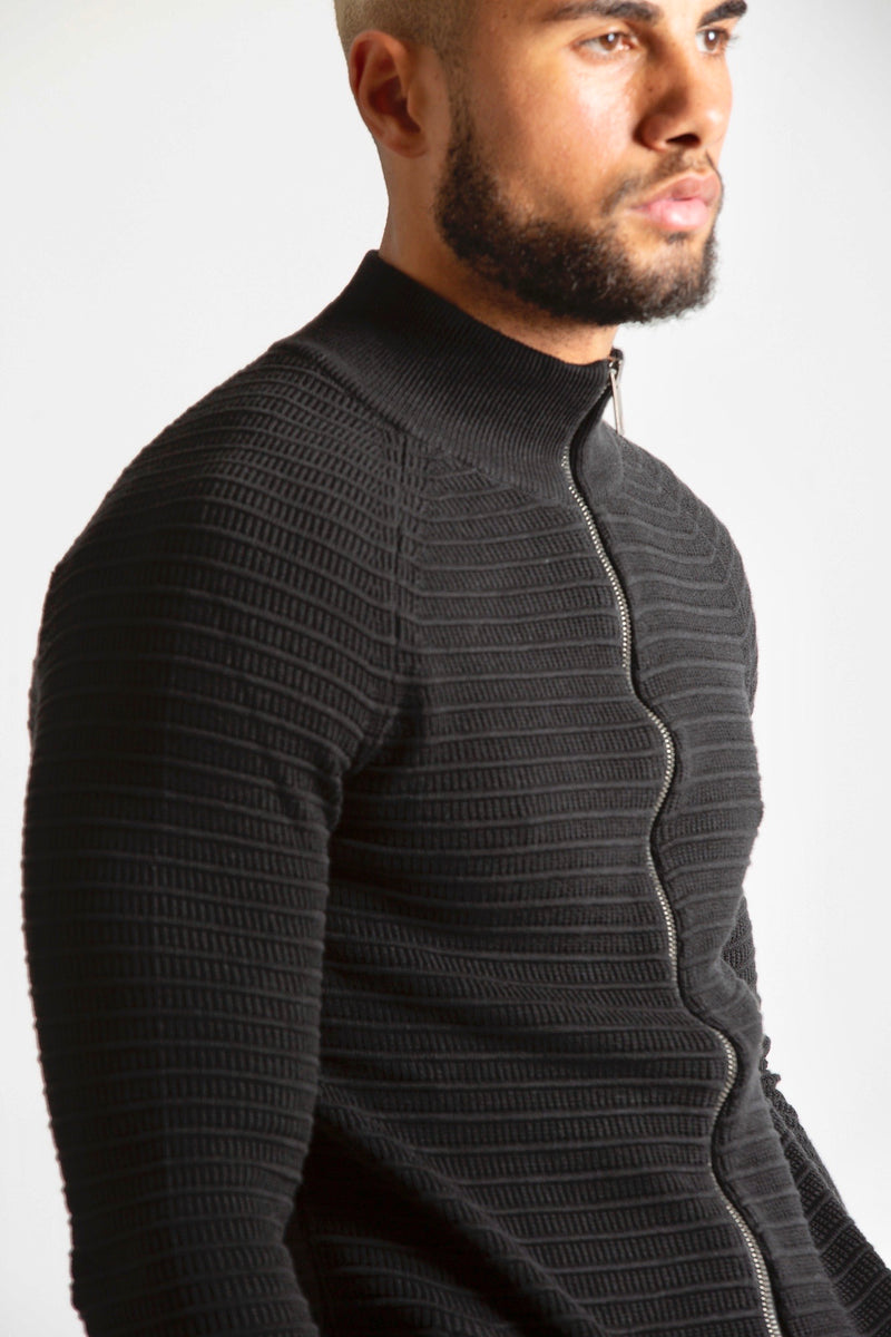 Vest Turtleneck zipper