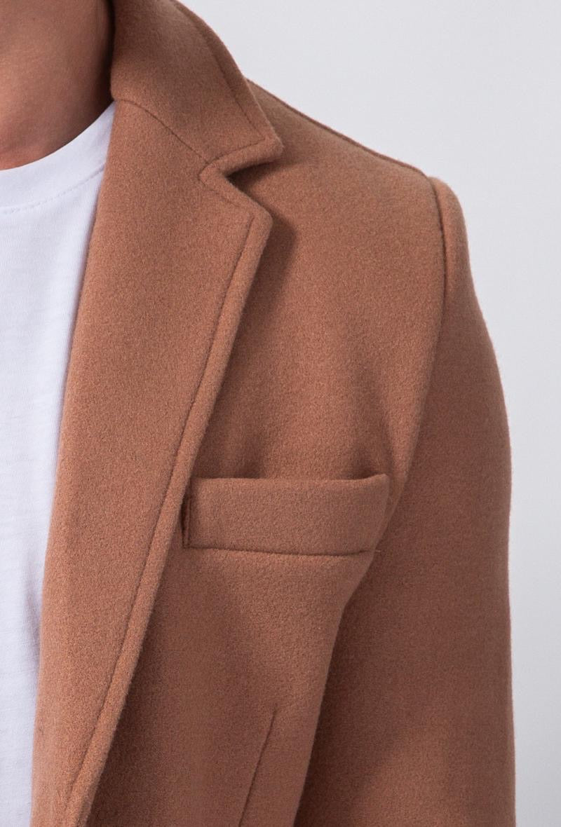 Trenchcoat Camel slim