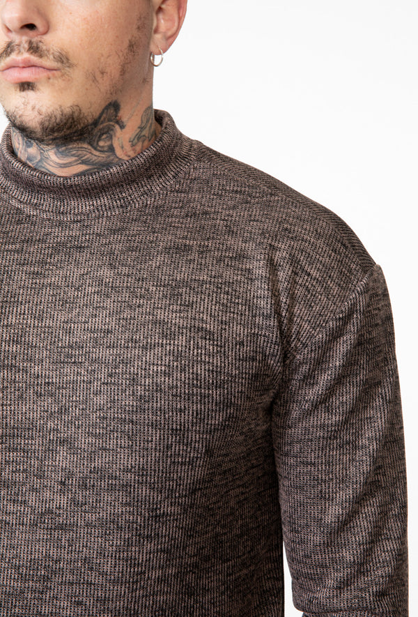 Sweater turtle melee brown