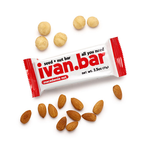 Ivan Bar Almond Macadamia Seed and Nut Bar