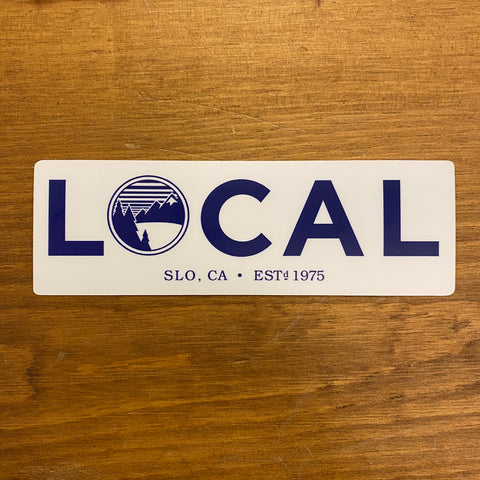 The Mountain Air Local Sticker