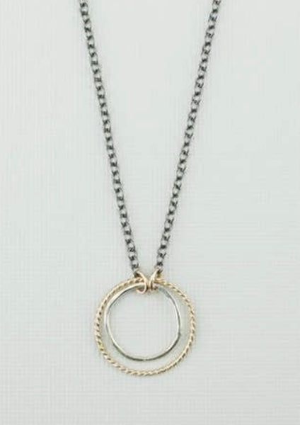 DOUBLE PROMISE NECKLACE
