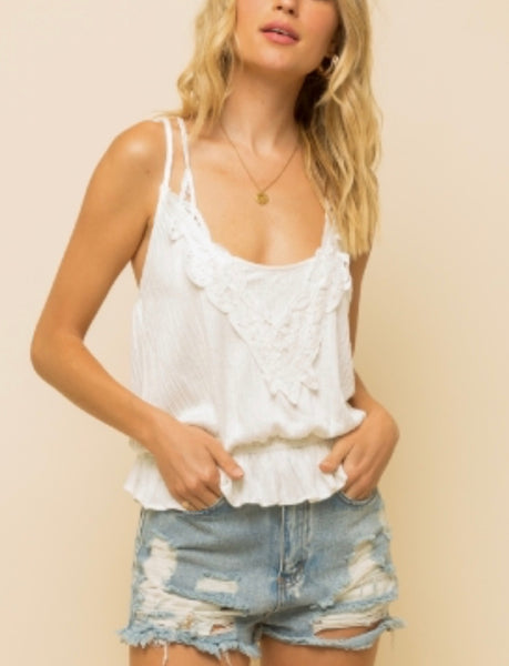 LACE TRIM CAMI