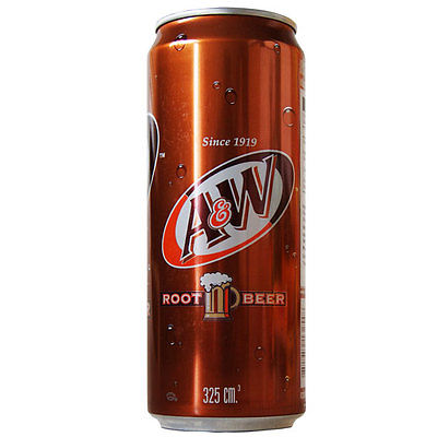 A&W Root Beer 325ml (Asian)