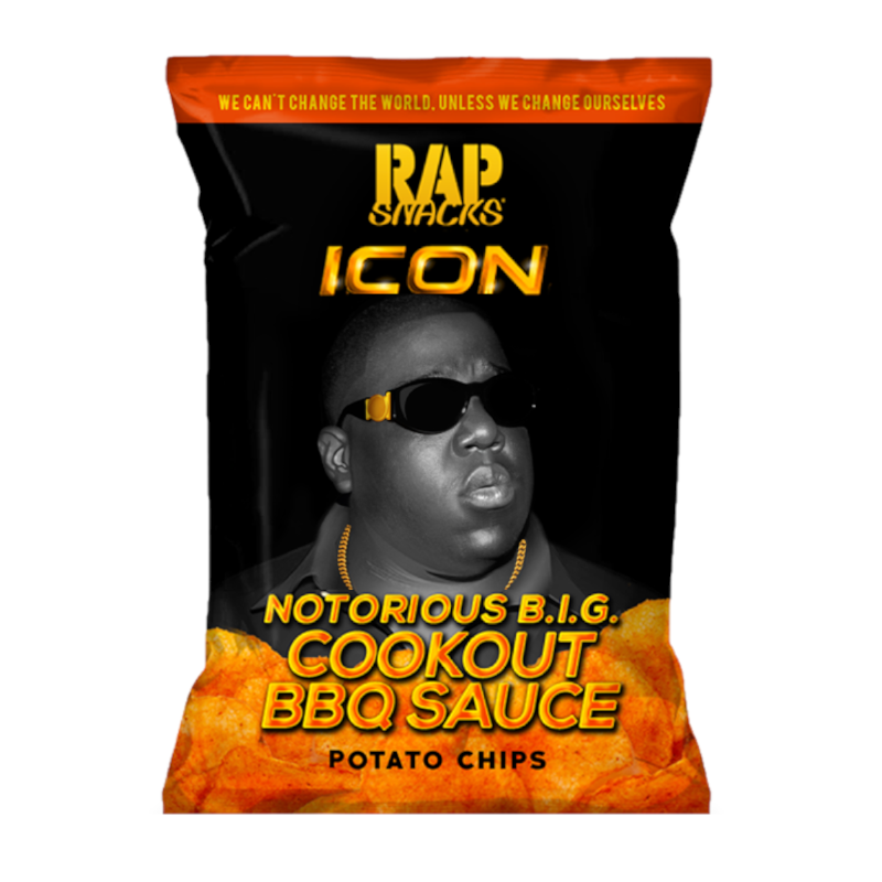 Rap Snacks Icon Notorious B.I.G. Cookout BBQ Sauce 2.75oz (78g)