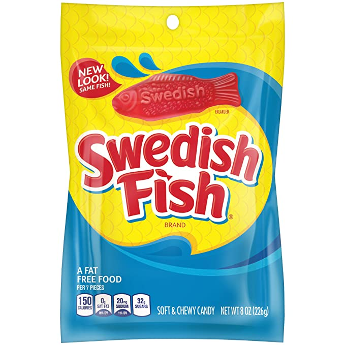 Swedish Fish 8oz Bag