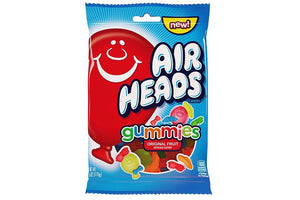 Airheads Gummies Peg Bag 108g