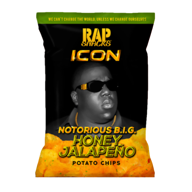 Rap Snacks Icon Notorious B.I.G. Honey Jalapeño 2.75oz (78g)