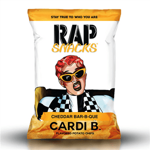 Rap Snacks Cheddar Bar-B-Que 1oz