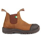 Load image into Gallery viewer, Blundstone 169 - Work & Safety Boot Rubber Toe Cap Crazy Horse Brown
