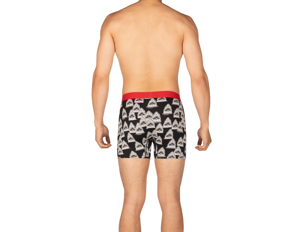 DAYTRIPPER Boxer Brief / Black Shark Grill