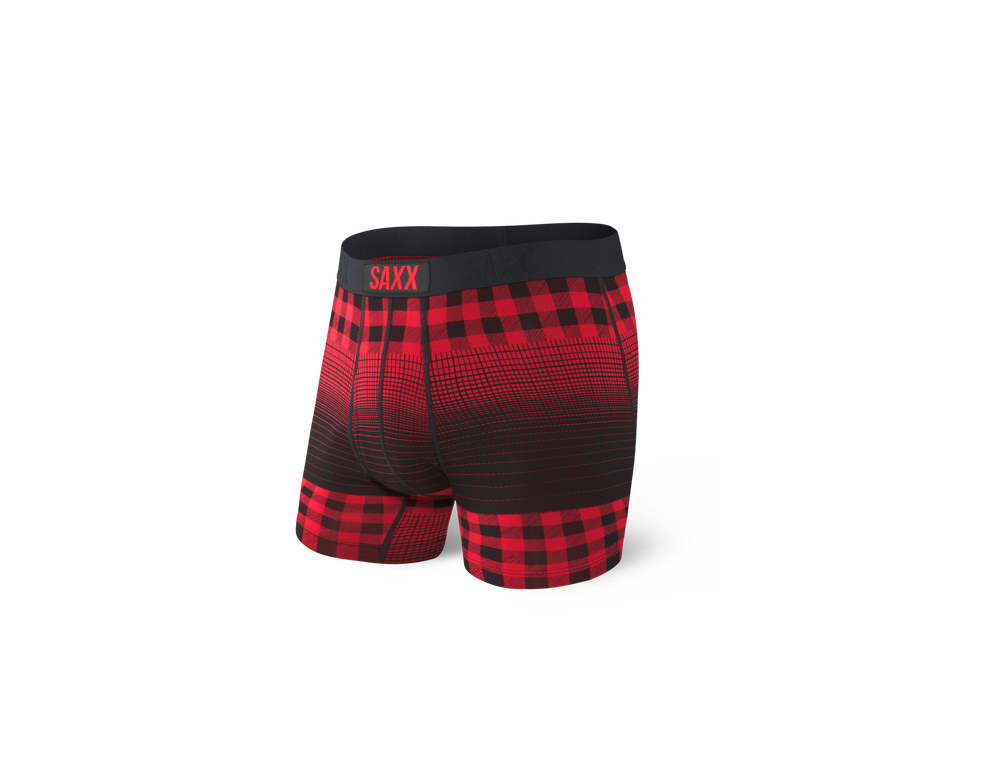 ULTRA Boxer Brief / Red Horizon Plaid