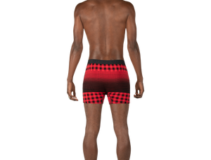 Load image into Gallery viewer, ULTRA Boxer Brief / Red Horizon Plaid