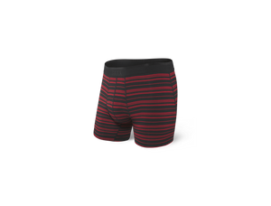 PLATINUM Boxer Brief / Black/Red Tidal Stripe