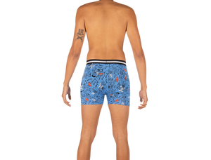 VIBE Boxer Brief / Blue First And Ten