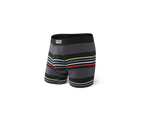 VIBE Boxer Brief / Black Surf Stripe