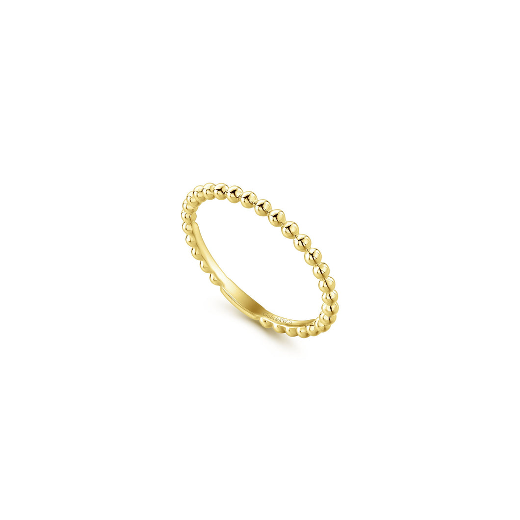 14KT Yellow Gold Band