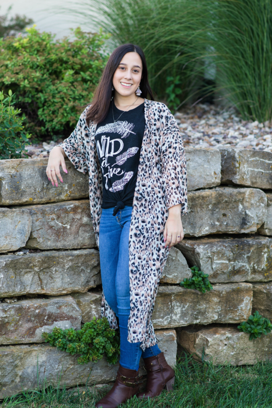 WILD and BRAVE Tee