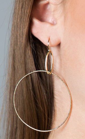 Rings of Gold Earrings