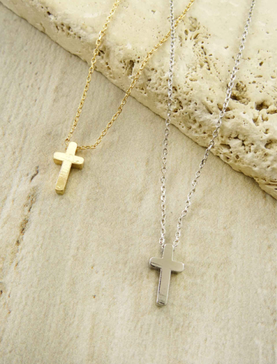 Delicate Cross Necklace