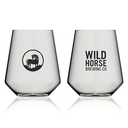 Wild horse Brewing Co. - Branded Glass 2/3