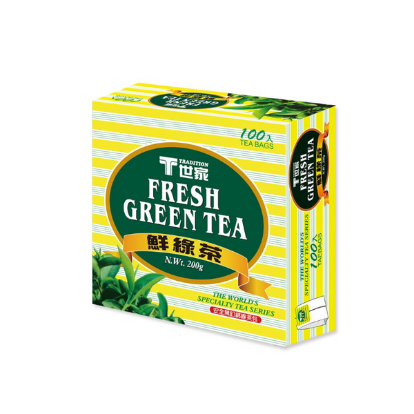 Tradition Green Tea 100b 鮮綠茶包
