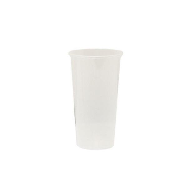 24oz Plastic White Cup 24oz白色杯