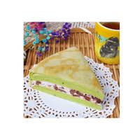Touched Mille Crepe Cake -Green Tea & Red Beans 抹茶紅豆千層蛋糕