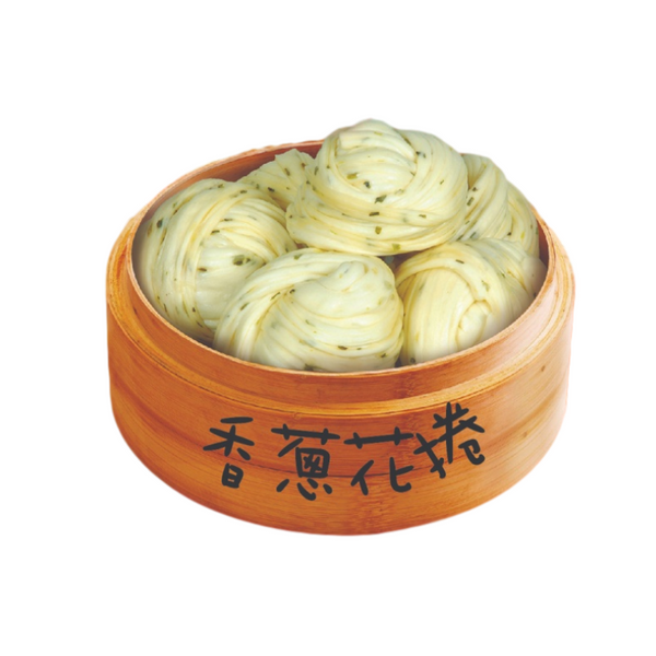 Green Onion Steam Roll 香蔥花捲