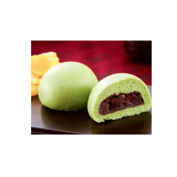 Mini Green tea & Red Bean Bao迷你抹茶紅豆包