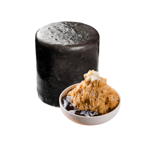 Shave Ice Brick - Grass Jelly Flavor 仙草雪花冰磚
