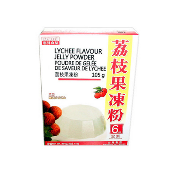 Lychee Flavor Jelly Powder 惠昇荔枝凍粉 (10 boxes)