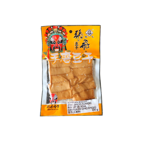 Soybean Biscuit ( Five-Spices Flavor)  張飛手磨五香豆乾 10bags
