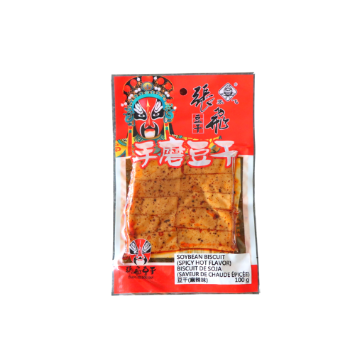 Soybean Biscuit (Spicy Hot Flavor) 張飛手磨麻辣豆乾 10bags