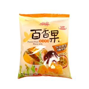 "Passion Fruit Flavor Jelly  ""晶晶""百香果風味果凍"