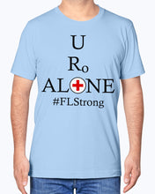 Load image into Gallery viewer, Medical and State Design #FLStrong on Bella + Canvas Unisex T-Shirt