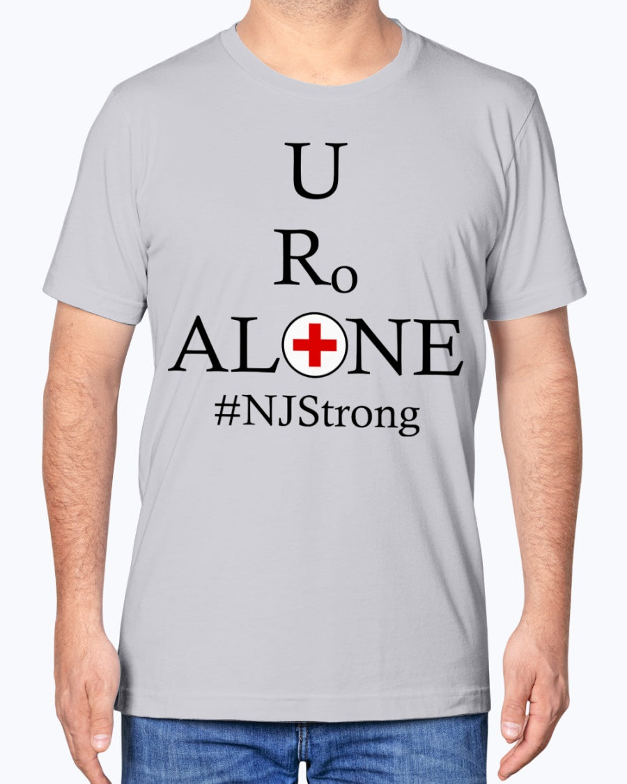 Medical and State Design #NJStrong on Bella + Canvas Unisex T-Shirt