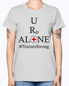 Nurses Design on Gildan Ladies Missy T-Shirt