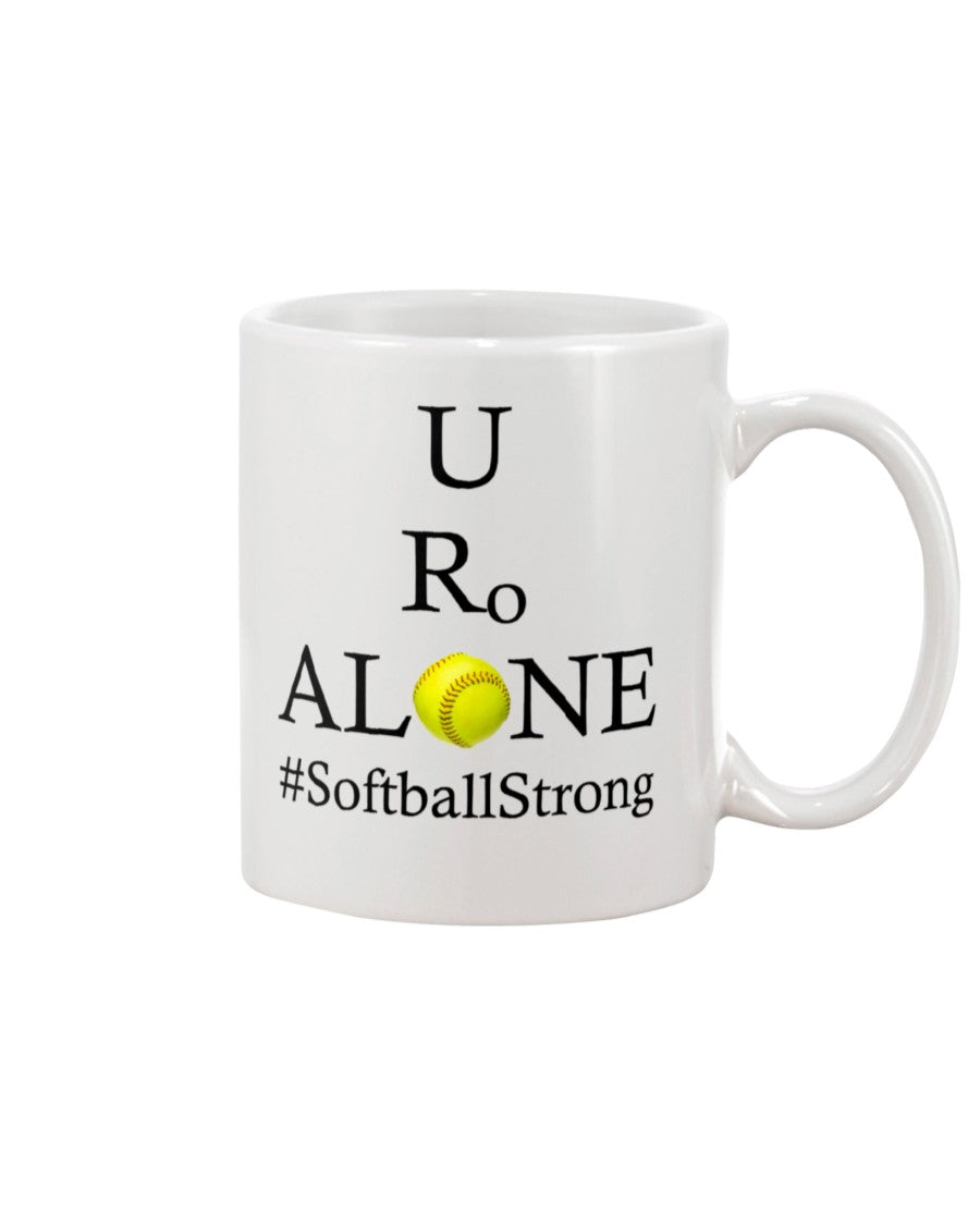 Softball Design on 11oz Mug