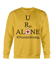 Load image into Gallery viewer, Nurses Design on Gildan Sweatshirt - Crew