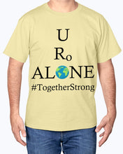 Load image into Gallery viewer, Global Design #TogetherStrong on Hanes Tagless T-Shirt
