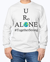 Load image into Gallery viewer, Global Design #TogetherStrong on Gildan Long Sleeve T-Shirt